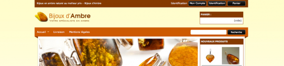 Bijoux en ambre naturel de la mer Baltique