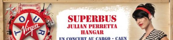 Virgin Radio Tour à Caen, 2 places offert.