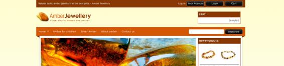Amber Jewellery, bijoux en ambre naturel